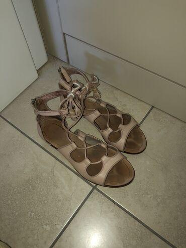Braon kozne sandale broj pitajte - Srbija: Sandale Zara Broj 36 Kozne