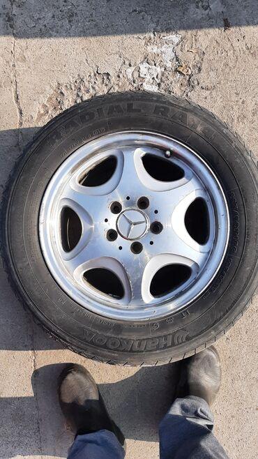 диски титановые в Кыргызстан: Мерседес w140 кабанПродаю титановые диски и шины в комплекте 4