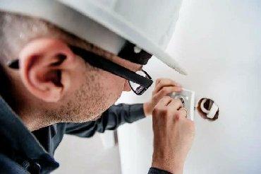 Вызов на дом электрика - Кыргызстан: Вызов мастера Электрика Электрик электрик электро-монтаж квартир домов