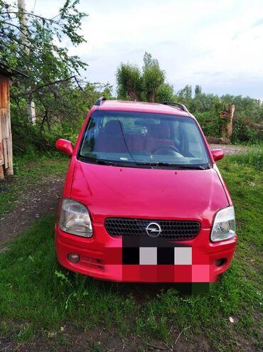 продам андрактим в Кыргызстан: Opel Agila 1.2 л. 2002 | 190000 км