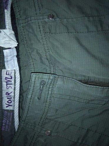 Pantalone maslinasto zelene,perideri,kvalitet extra - Sombor