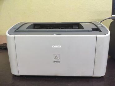 продам-принтер-бу в Кыргызстан: Принтер Canon lbp3000, lbp2900, состояние отличные, печатают хорошо