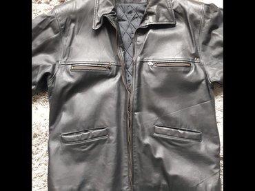 Kožna (teleći box) muška jakna  Na prodaju potpuno nova muška kožna - Nis