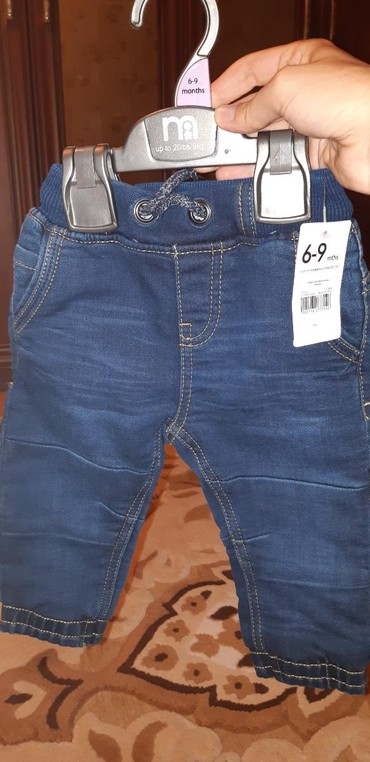 английские детские вещи в Азербайджан: Детские штанишки джинсовые.на