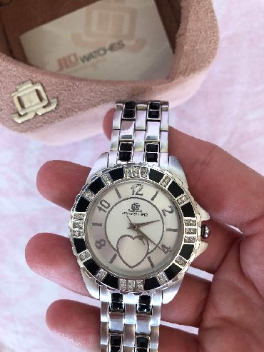 JLO stainless steel women's watch
