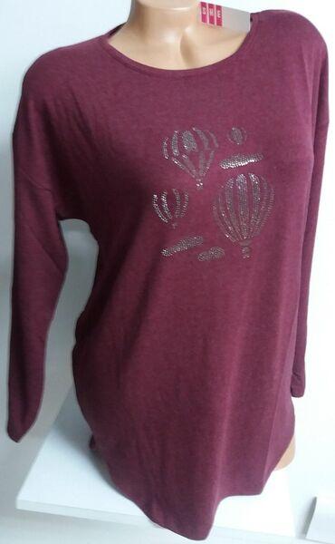 Bluza/tunika od viskoze sa elastinom, veličina odgovara od L do