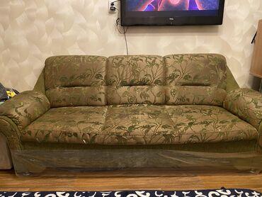 Диваны - Кыргызстан: Продаётся б/у мебель. Диван и два кресла,в хорошем состоянии! Цена дог