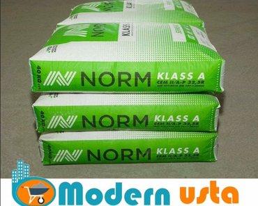 Bakı şəhərində Norm 400 marka / 40 kq - 6.35 Azn