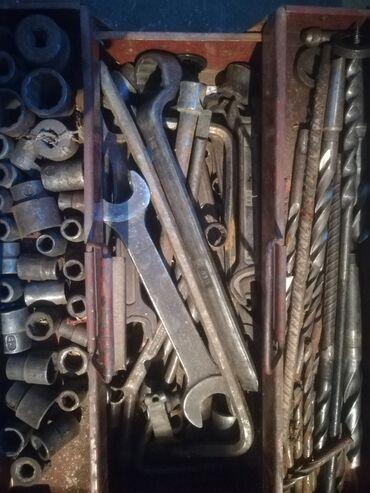 Наборы инструментов - Кыргызстан: Инструменты для мужчин, знающих в твёрдости и качестве металла. этим