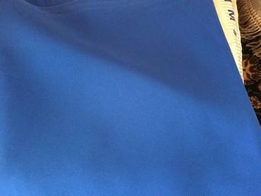 Красивые ткани_3Тонкая костюмная ткань синего, красного цвета.Длина 3