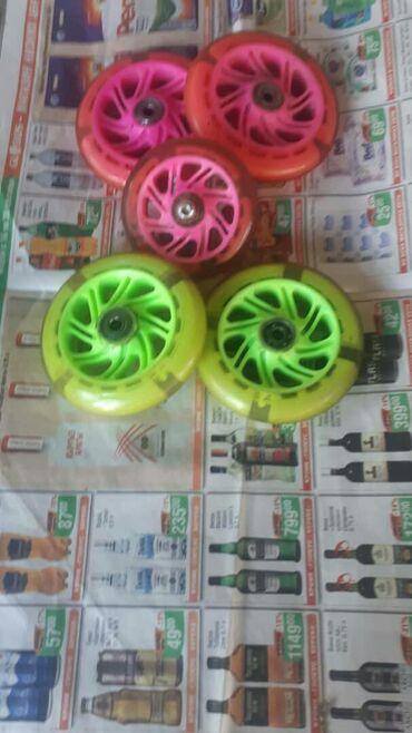 Продаются колёса на детские самокаты