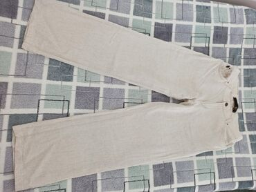 Lanene pantalone - Srbija: Lanene pantalone ( Just Cavalli ) Velicina 30 Bez ostecenja