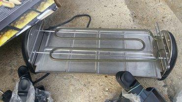Rostilj elektricni nov ploca tefal sa dosta dodataka pogodan za sve - Jagodina - slika 4