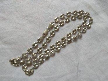 цепь серебряная в Кыргызстан: Старинный толстый российской серебряный цепь 925. смотрятся очень крас