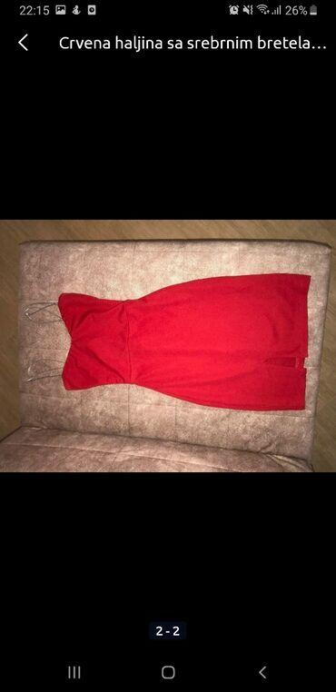 Pamucna bluza p s - Srbija: Crvena haljina