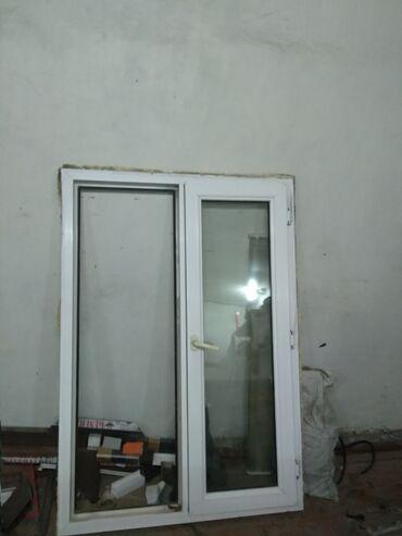 Пластиковый окна размер 155/110 Турция 5камерный район шлагбаум