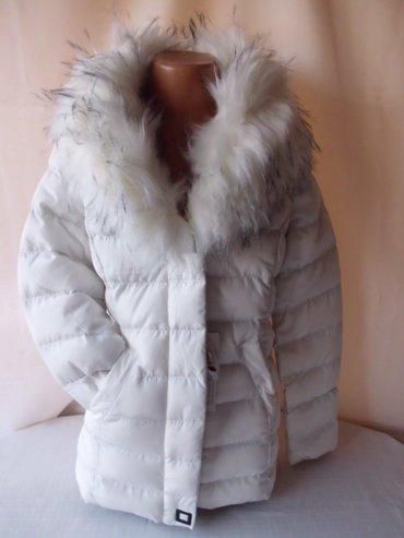 Zimska jakna za devojcice bez kapuljace, strukirana fatirana i postavl - Beograd