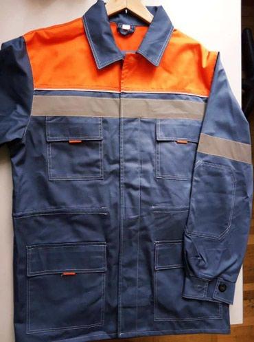 Костюм рабочий летний (куртка и брюки)Куртка прямого силуэта, с