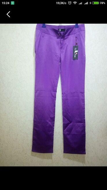 28 р. Новые женские брюки, прямые, слегка зауженные, легкие
