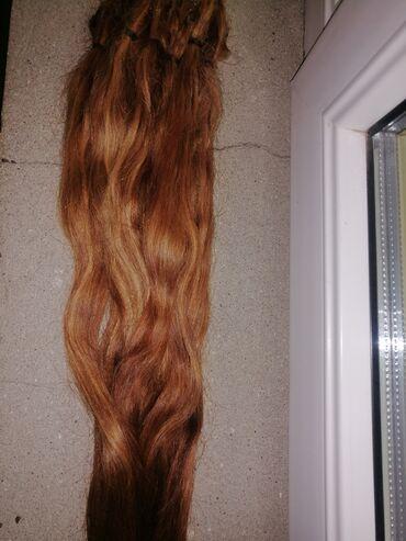 Digər - Saray: 200 qram 67 sm təbii açılmış saç. 1 dəfə işlənmiş saçdır açılıb rəngi
