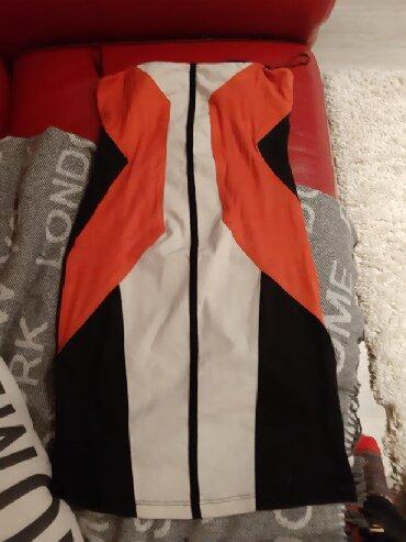 Majica-svecana - Srbija: BERSHKA top svecana haljina vel xs