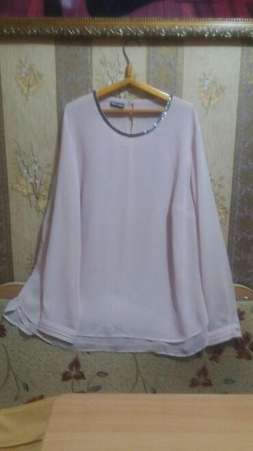 Продаю шелковую блузку 54р-р очень нарядная нежно-розовый цвет. Пр-во