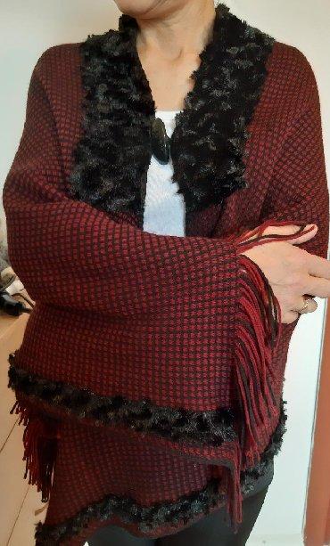 вязание пальто кардиганы пончо в Кыргызстан: Пончо шарф размер стандарт