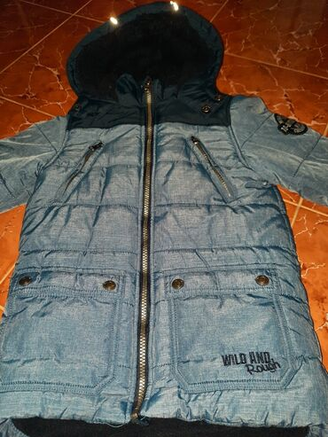 Zimska jakna vel 128 Kao nova, jako topla, takko fashion