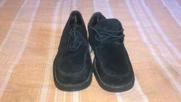 Muske cipele - Srbija: Muske cipele broj 42 koza -duzina gazista je 27 cm.- bez