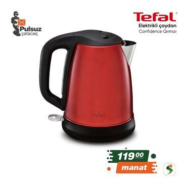 Elektrik çaydanları - Azərbaycan: Elektrikli çaydan Tefal Confidence . Çaydan Tefal K (qırmızı)