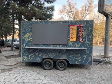 """прицеп для велосипеда в Кыргызстан: Продаю трейлер «foodtruck"""" готовый бизнес лапша на колёсах  полностью"""
