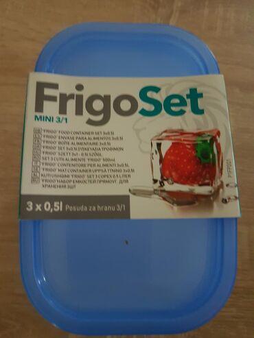 Nov. frigo set posuda 3/1