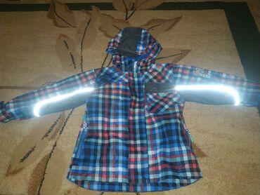 Продаю Демисезонную термокурточку на мальчика со светоотражающими