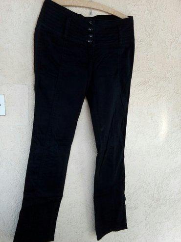 Prelepe crne pantalone vel 25/26 Beny fish - Krusevac