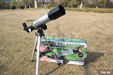 Mektebli ve telebeler ucun-teleskop.Mueyyen mesafedeki obyektlere