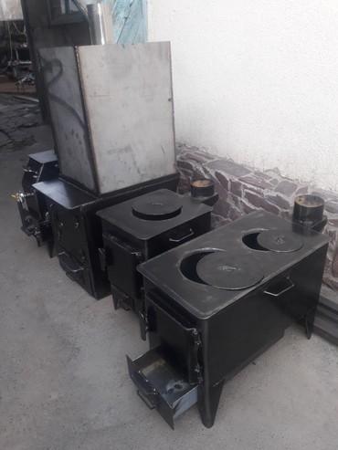 промышленный печь в Кыргызстан: Буржуйка-печь,печь для бани,печь на отработке,т