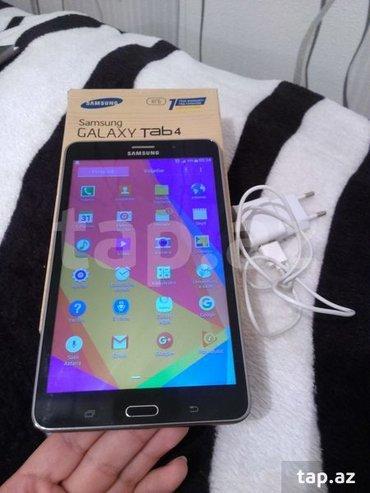 Bakı şəhərində Samsung Galaxy Tab 4 ***Ela veziyet,boyur nikkeli getmeyib hec.