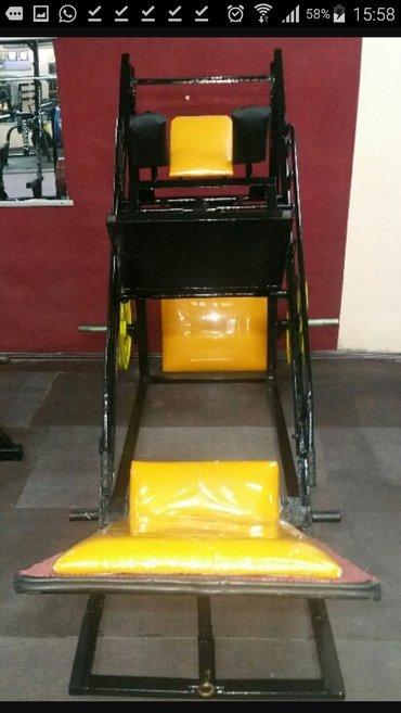 продаю тренажер: жим ногами/Гакк машина в Бишкек