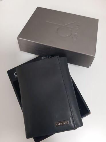 Calvin klein ανδρικό πορτοφόλι στη συσκευασία του