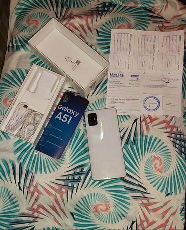 вытяжка белая в Азербайджан: Новый Samsung A51 64 ГБ Белый