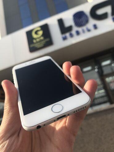 джойстики чехол в Кыргызстан: Б/У iPhone 6 64 ГБ Серебристый
