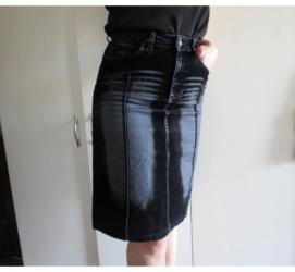Suknjica-jeans - Srbija: ***ONLY JEANS*** Suknjica S velicinaPrelepa suknjica,kombinacija