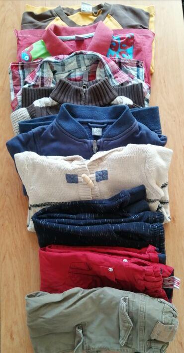 Продаю набор б/у вещей для мальчика 3-4 до 5 лет, 110 см. Забрать