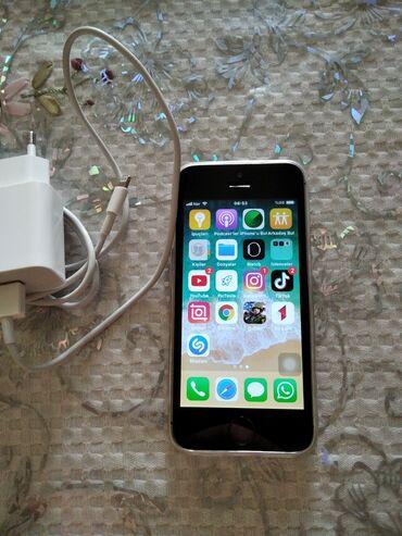 İphone 5 s saz veziyetde. Ela telfondu barmaq izi işleyir. Her seyi