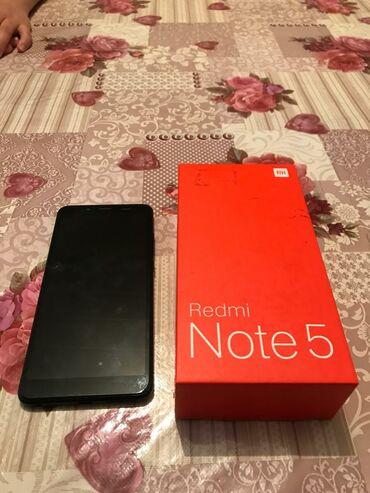 смартфоны meizu в Кыргызстан: Б/у Xiaomi Redmi Note 5 32 ГБ Черный