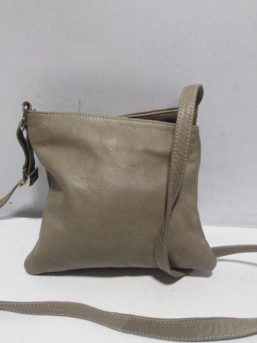 SALAMANDER vrhunska kožna torba, prirodna fina, mekana kvalitetna