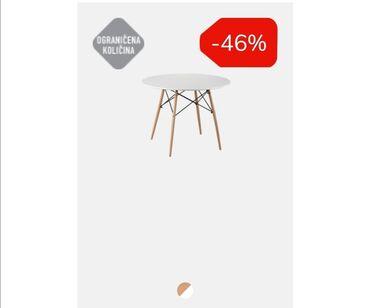 Trazim da kupim ovakav sto! Polovan u dobrom stanju