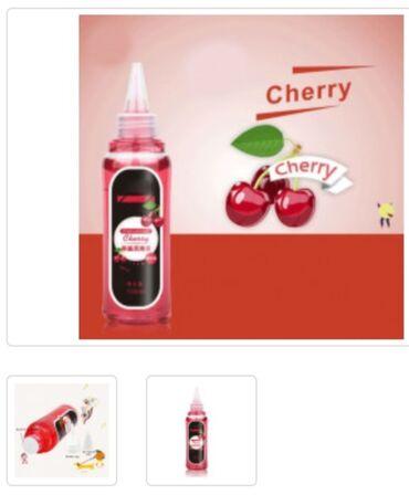 Смазка со вкусом вишни.Лубрикант подходит для вагинального и орального