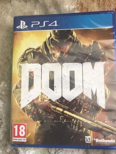 ps4 oyunlari - Azərbaycan: Doom.Sony PlayStation 4 oyunlarının və aksesuarlarinin zəmanətlə satış