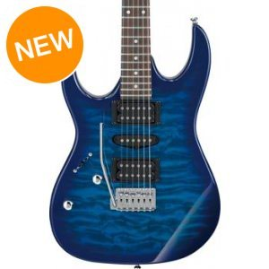 IBANEZ elektro gitara Model: GRX 70 QA-TBB